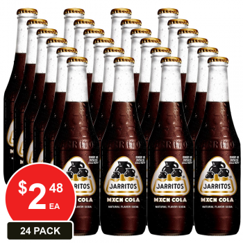 24 Pack, Jarritos 370ml Mexican Cola