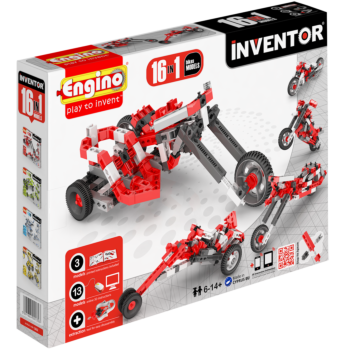 Inventor  16 Models Motorbikes | By  Engino