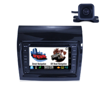 Android For Fiat Ducato GPS Bluetooth Car Player Navigation Radio Stereo DVD Inc CAM & Fas