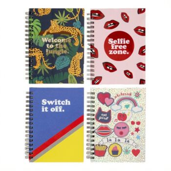 Notebook A6 Vibrant 120 page Fashion