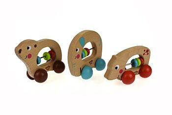 PRICE FOR 12 ASSORTED ANIMAL ROLLERS-MIXED